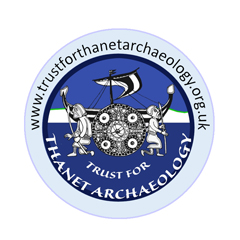 Trust for Thanet Archaeology logo